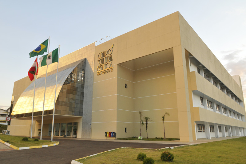 Centro de Eventos deve prestar apoio a pacientes do Ivo Silveira que precisarem de leitos – Foto: Prefeitura de Chapecó/Divulgação/ND
