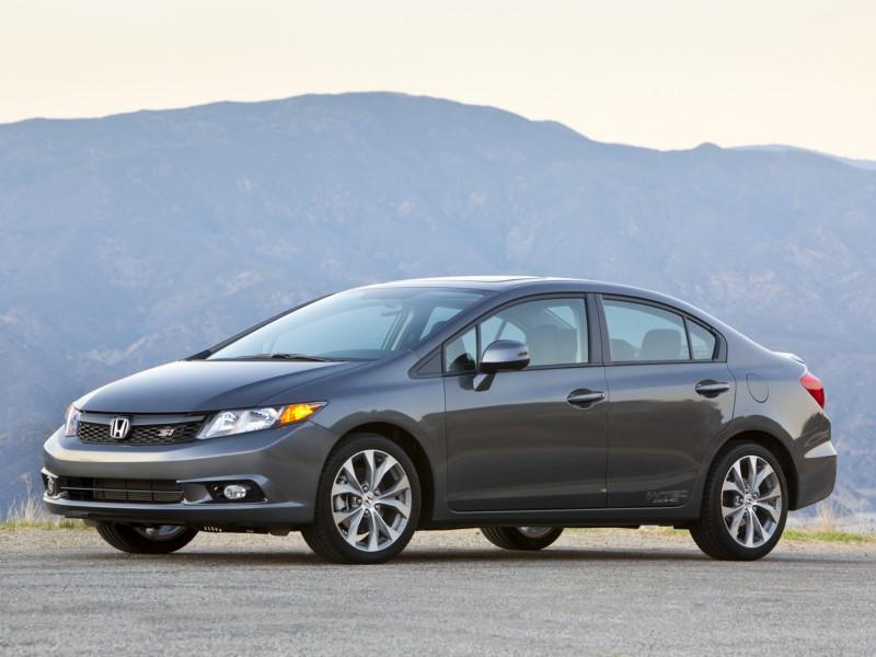 Honda Civic LXS 1.8 manual 2012 - R$ 38.900 (na foto, um modelo Si americano apenas para ilustrar o modelo, embora o Civic brasileiro fosse ligeiramente diferente) - Foto: Divulgação/Honda /Garagem 360/ND