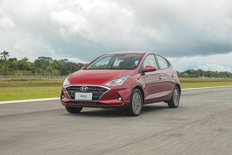 Hyundai HB20 Sense 1.0: R$ 53.990 - Foto: Divulgação/Hyundai/Garagem 360/ND