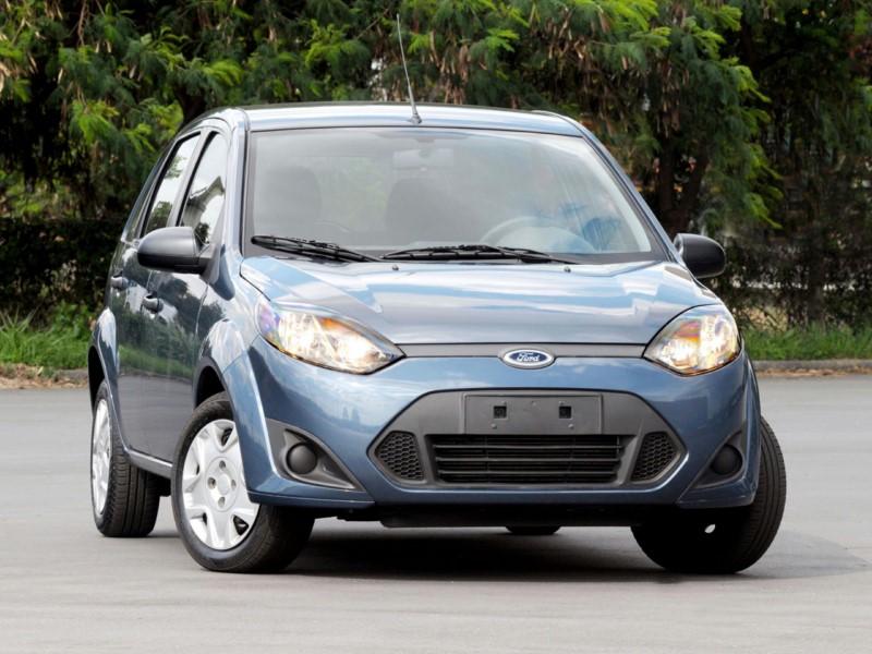 Ford Fiesta 1.6 Rocam 2014 - R$ 28.500 - Foto: Divulgação/Ford /Garagem 360/ND