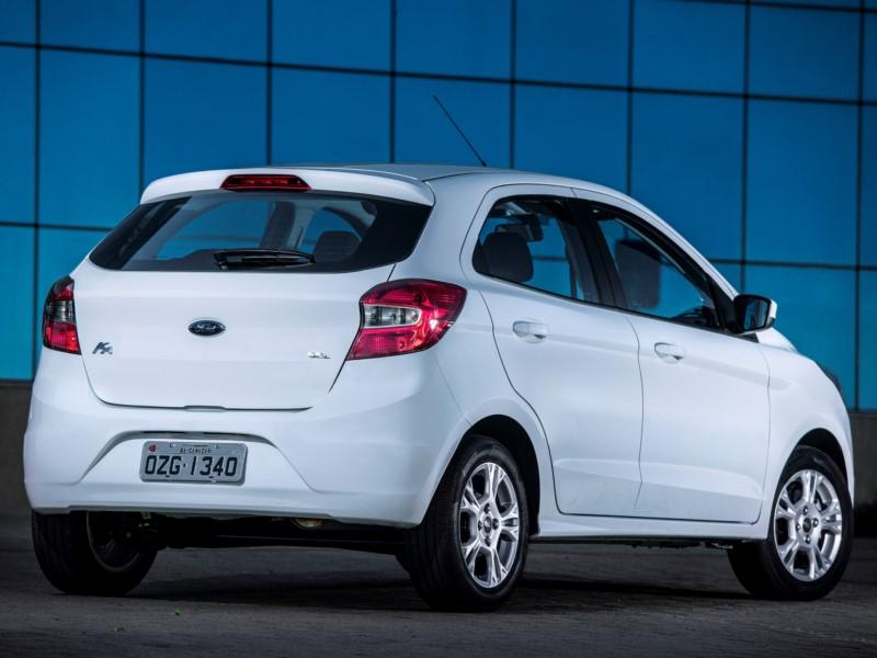 Ford Ka SE 1.0 2018 - R$ 37.900 - Foto: Divulgação/Ford /Garagem 360/ND