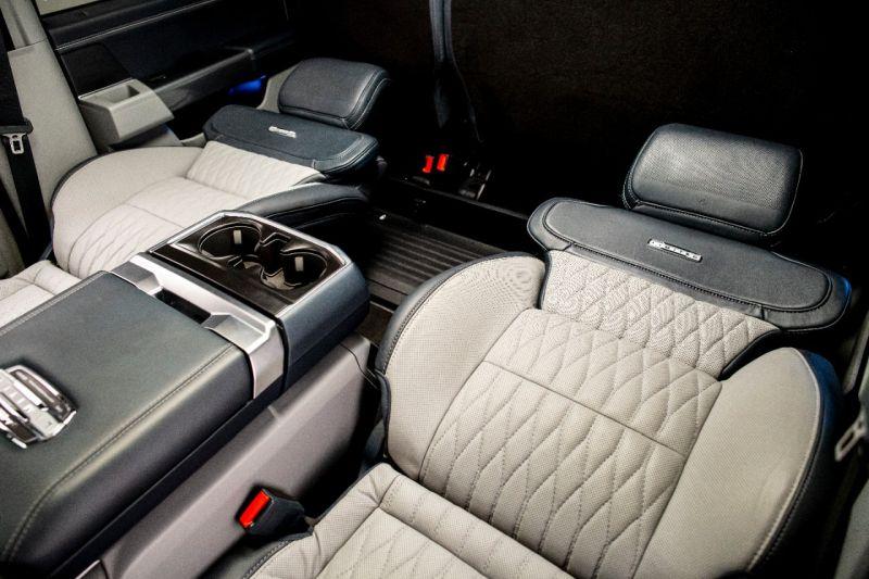 Ford F-150 terá bancos que reclinam quase 180 graus - Foto: Divulgação/Ford