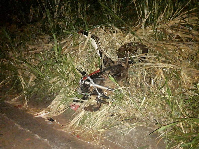 Motociclista de 28 anos morreu no acidente – Foto: PMRv/Divulgação/ND