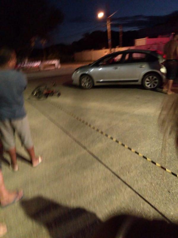 Vítima estava com a família quando foi atropelada pelo carro – Foto: Redes sociais/ND