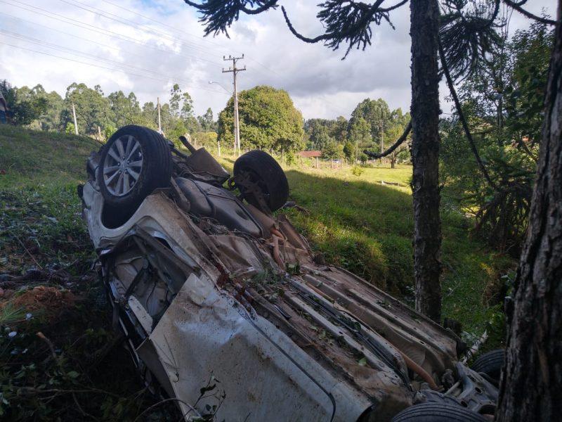 Motorista de 33 anos morreu após bater carro contra árvore – Foto: PMRv/Divulgação/ND