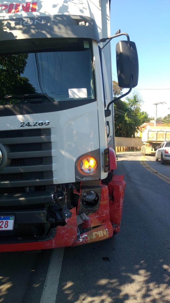O motorista do caminhão não se feriu - CBVI/Divulgação