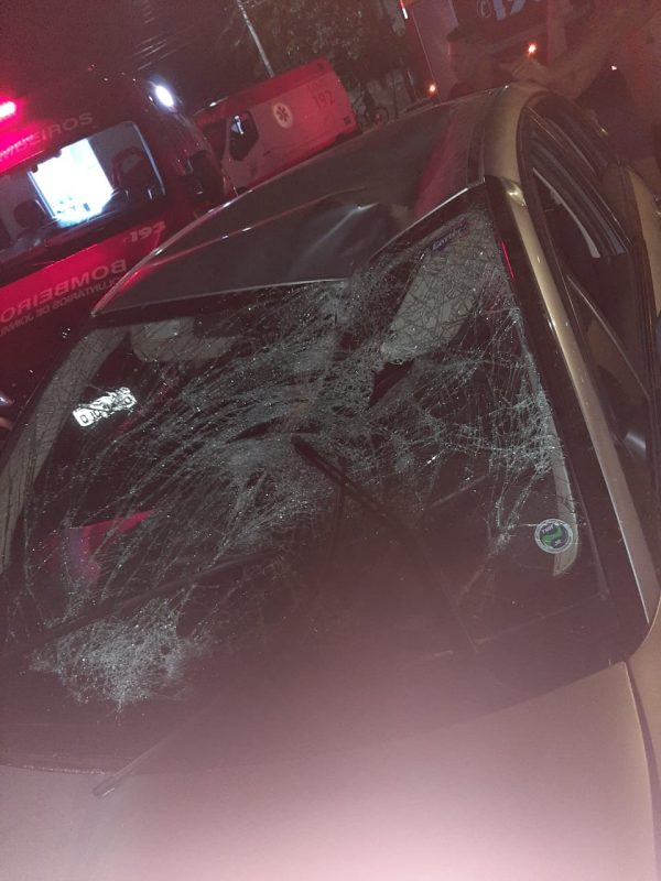 Pai do adolescente também ficou ferido no acidente – Foto: Arquivo Pessoal/Divulgação/ND