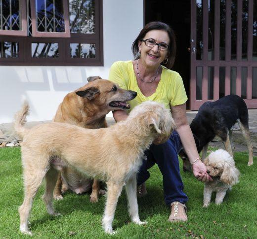 Ana Rita foi um dos grandes nomes na luta da causa animal de Joinville – Foto: Arquivo Pessoal/Divulgação/ND