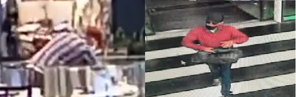 Quatro criminosos assaltaram duas joalherias e fugiram antes da chegada da polícia – Foto: Reprodução