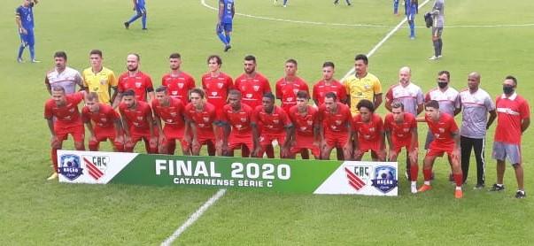 Clube Atlético Catarinense, fundado em 2020. Campeão da série C. Nesta temporada vai disputar a Série B do estadual. – Foto: Atlético Catarinense/ND