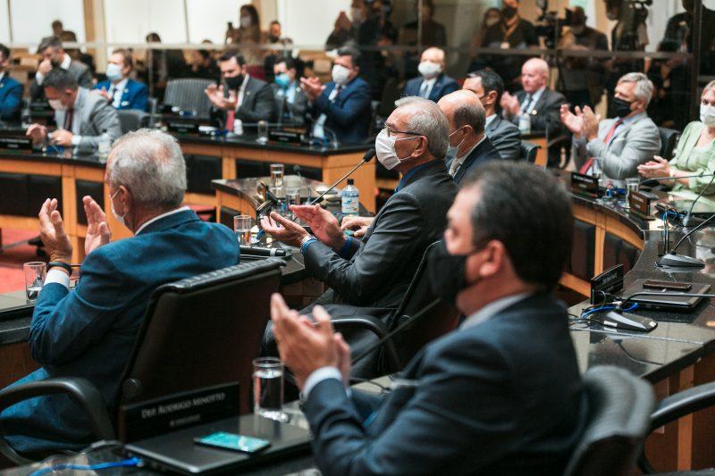 Bancadas partidárias da Alesc têm mudanças na Legislatura que está começando