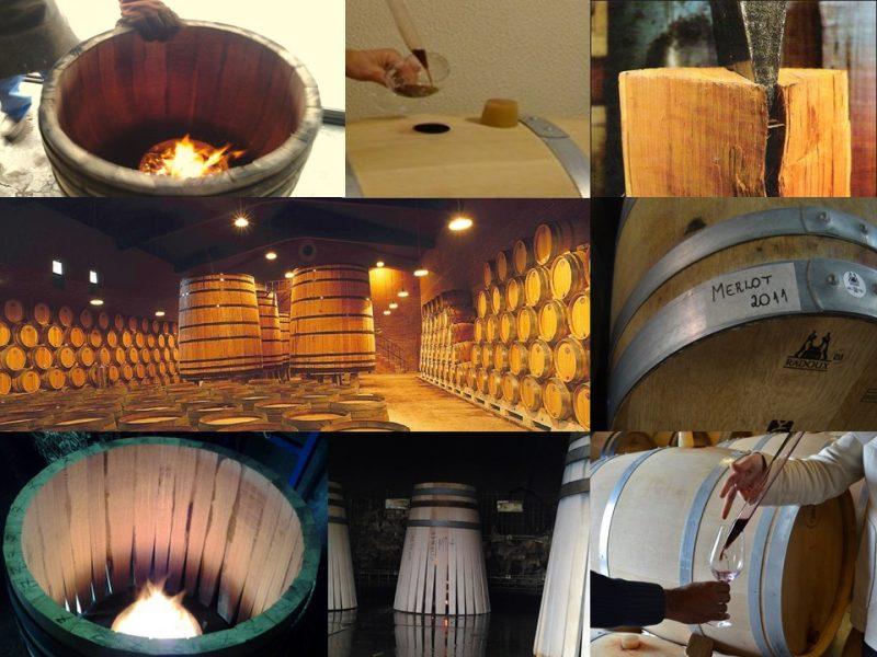 Barricas servem para melhorar vinhos que já são considerados muito bons – Foto: Divulgação