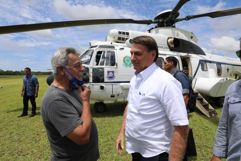 Bolsonaro está em São Francisco do Sul desde sábado (13), onde passa dias de folga com a família – Foto: Prefeitura SFS/Divulgação