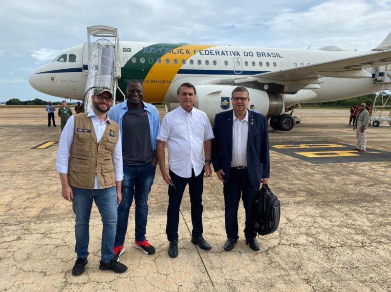 Presidente Jair Bolsonaro embarca com destino a São Francisco do Sul neste sábado (13) – Foto: Divulgação/ND