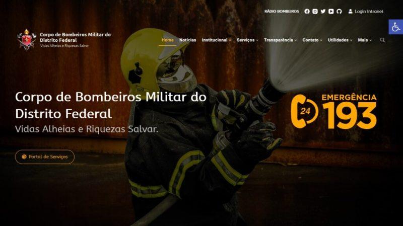 Bombeiro militar do Distrito Federal vai responder por filmar a colega – Foto: bombeiros df
