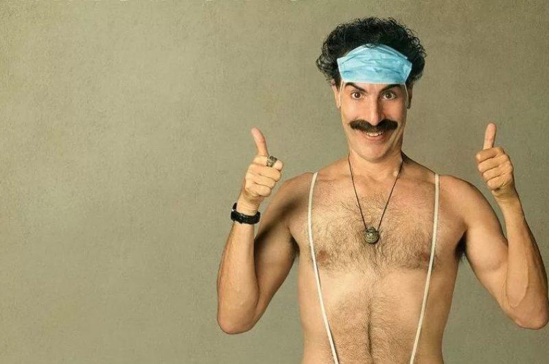 Sacha Baron Cohen é o protagonista de Borat – Foto: Divulgação
