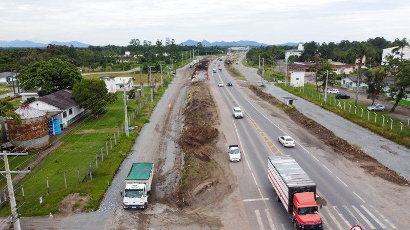 Duplicação da BR-280 será beneficiada com um dos projetos – Foto: Carlos Júnior/ND
