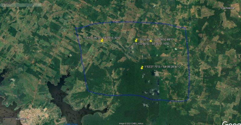 Avião teria desaparecido na região no dia 28 de janeiro – Foto: GRM/Divulgação