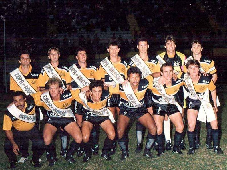 Elenco Campeão da Copa do Brasil de 1991
