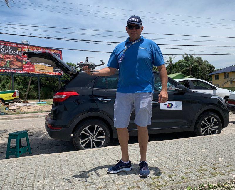 Carlos Bortolotti, idealizador e executor do projeto pioneiro em SC – Foto: Moacir Pereira/ND