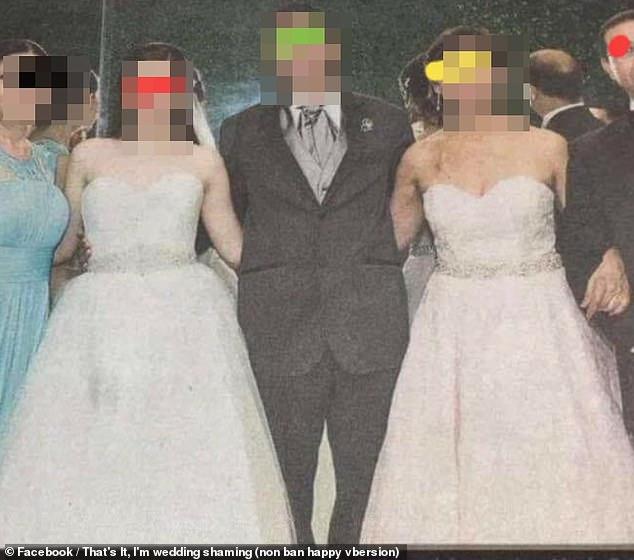 As duas usam o mesmo vestido, da mesma marca – Foto: Facebook/Reprodução/ND
