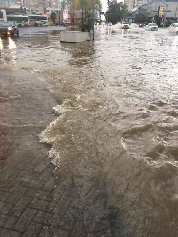 Alagamentos e inundações já eram alertados pelas autoridades – Foto: Divulgação/Monique Regina/Conexão GeoClima/Divulgação/ND