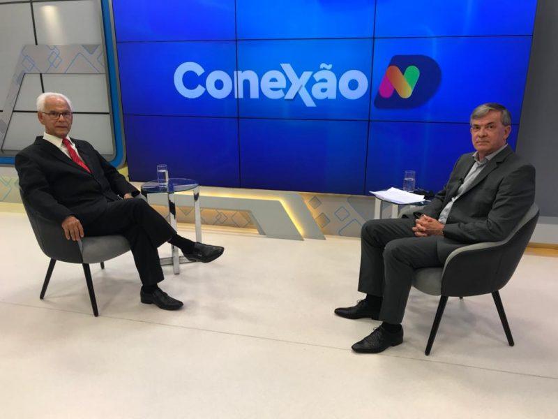 Moacir Pereira recebe o secretário Paulo Eli no Conexão ND