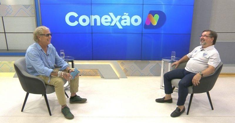 Cacau Menezes conversa com Marco Aurélio Cunha no Conexão ND