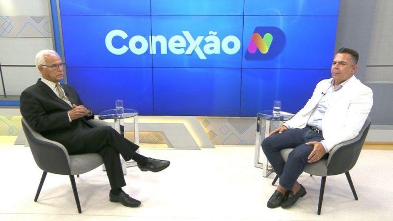 Secretário Luiz Vampiro conversa com Moacir Pereira no Conexão ND desta segunda