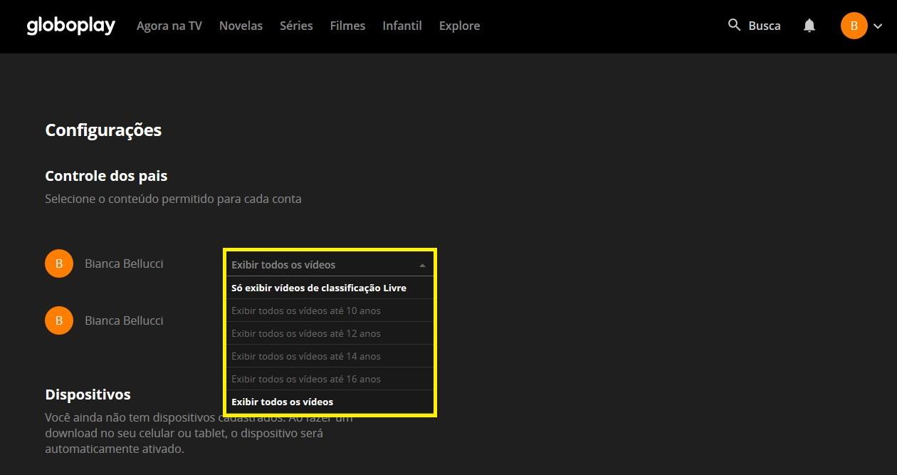 Passo 2 - Crédito: Reprodução/Globoplay/33Giga/ND