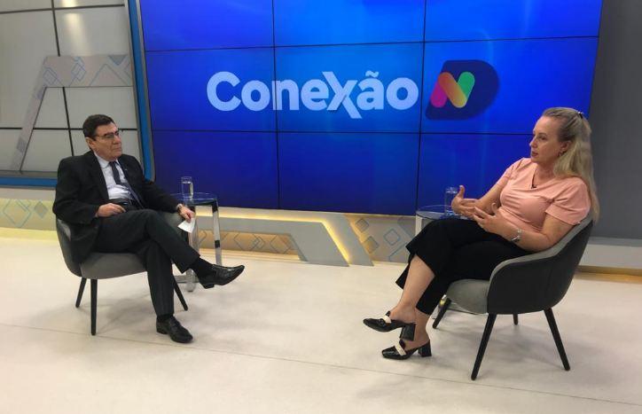 Delegada da Dpcami conversa com Luiz Carlos Prates no programa Conexão ND desta quarta-feira