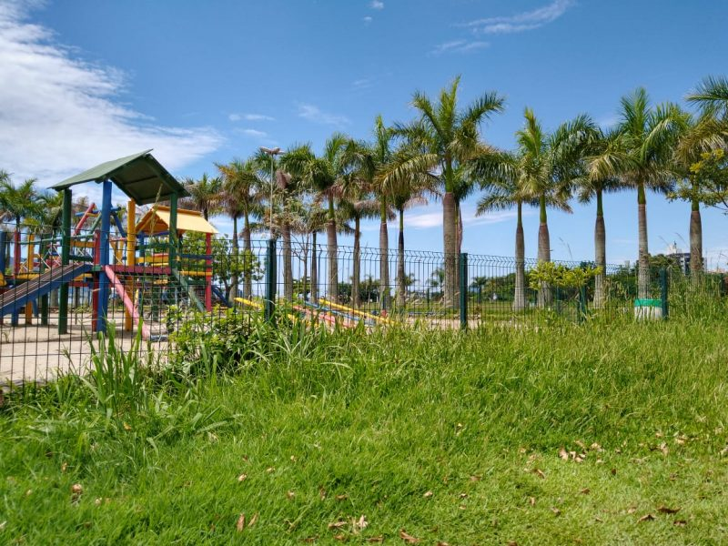 Visitantes denunciam falta de conservação do Parque de Coqueiros, em Florianópolis – Foto: Bruna Stroisch/ND