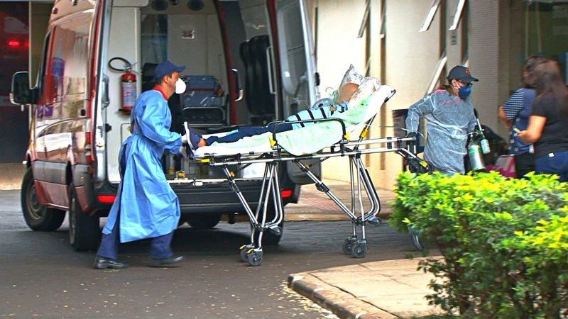 Rede hospitalar de Santa Catarina está com lotação máxima – Foto: Arvito Concatto/NDTV/ND