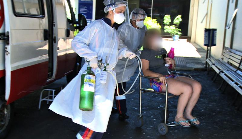 Chapecó não tem mais leitos de UTI no hospital privado para pacientes com coronavírus – Foto: NDTV/Arquivo/ND