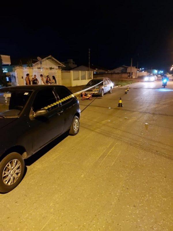 Motorista fez exame de bafômetro que não constatou o consumo de álcool – Foto: PM de Itajaí/Divulgação/ND