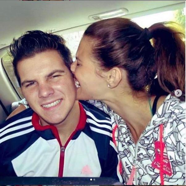 Dayane Mello e o irmãomais novo, Lucas, morto em um acidente de carro na BR-470 no Alto Vale do Itajaí – Foto: Reprodução/Redes Sociais