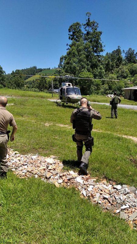 Quatro suspeitos de participação no assalto já foram detidos – Foto: Bope/Divulgação/ND