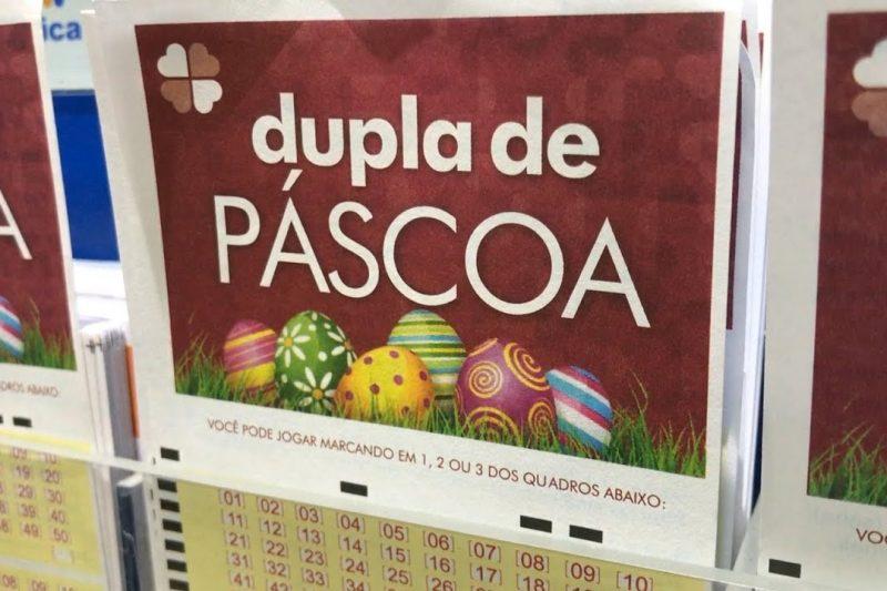Apostas para a Dupla de Páscoa começam nesta segunda – Foto: Divulgação/Caixa