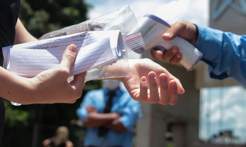 28 estudantes alcançaram a nota mil na redação – Foto: Marcello Casal Jr/Agência Brasil/ND