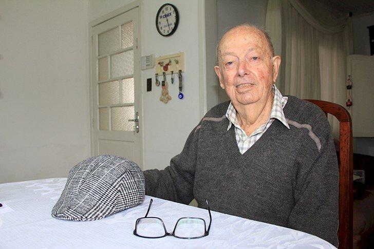 Evaristo Spengler morreu aos 91 anos nesta segunda-feira (1º) – Foto: Jornal Metas/Divulgação/ND