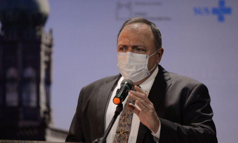 O ministro da Saúde, Eduardo Pazuello pediu uma atenção especial ao Brasil na distribuição de vacinas contra a Covid-19 – Foto: Tomaz Silva/Agência Brasil; /Agência Brasil/Divulgação/ND