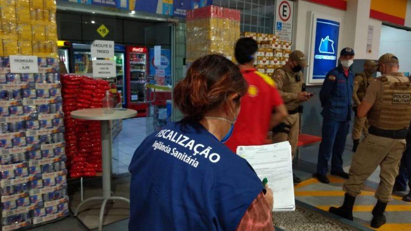 Fiscalização conjunta segue na sexta-feira (5) – Foto: Prefeitura de Joinville/Divulgação