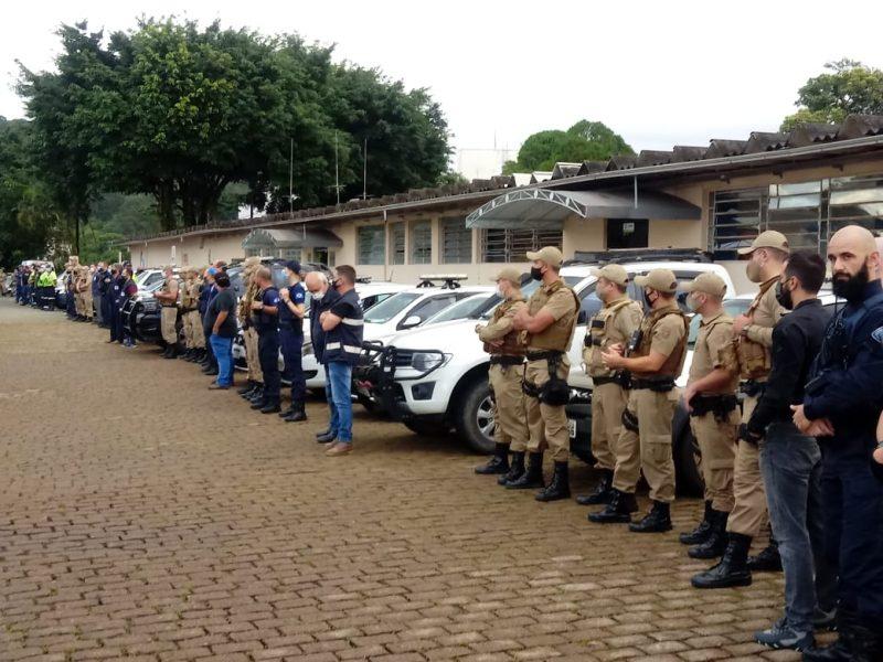 Fiscalização conjunta reúne mais de cem profissionais – Foto: Divulgação/ND
