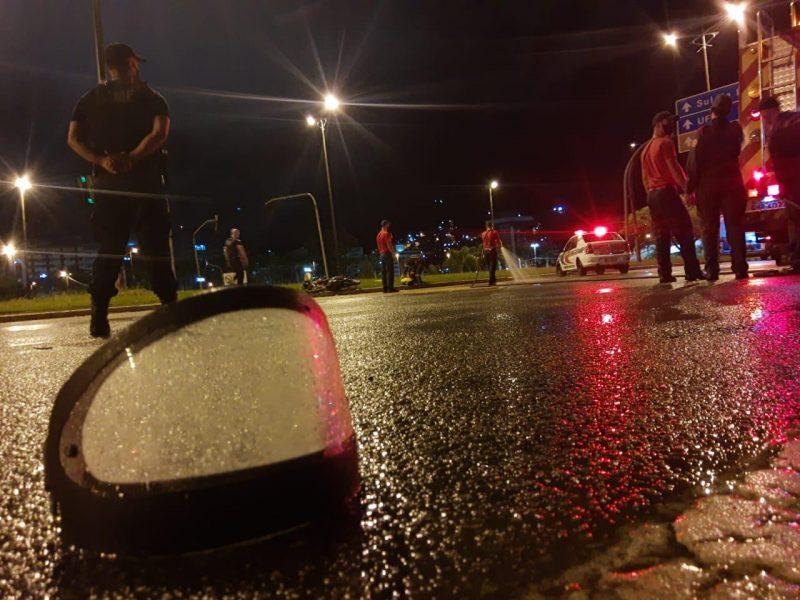 Motorista estava trafegando pela contramão, segundo registro policial – Foto: GMF/Divulgação/ND