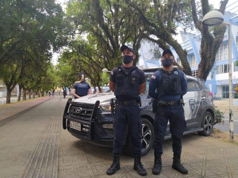 Guarda Municipal vai fiscalizar principais pontos de concentração carnavalesca para evitar aglomerações – Foto: Divulgação/GMF