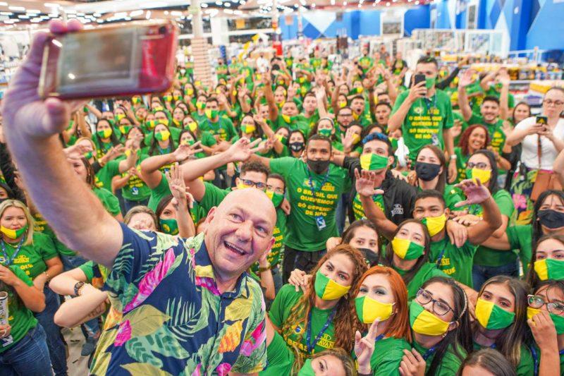 Varejista catarinense Havan está entre as 10 melhores empresas do setor para trabalhar no Brasil – Foto: Divulgação/Havan