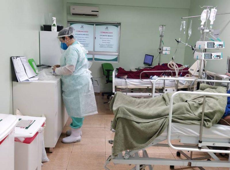 Hospital de Maravilha está com 100% de ocupação em leitos de UTI Covid-19 – Foto: Hospital de Maravilha/Divulgação/ND