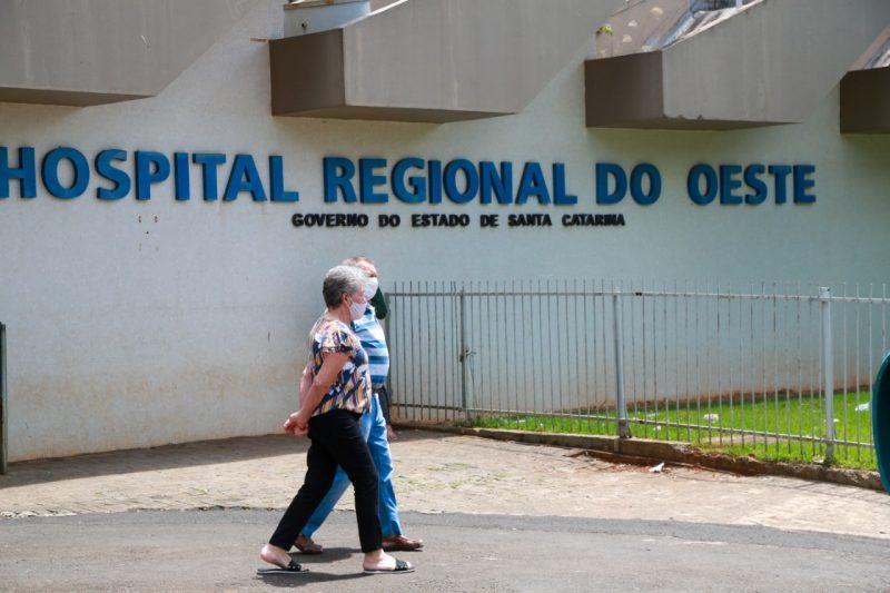 61 pacientes estão internados em leitos de UTI no HRO – Foto: Foto: Julio Cavalheiro/Secom/ND