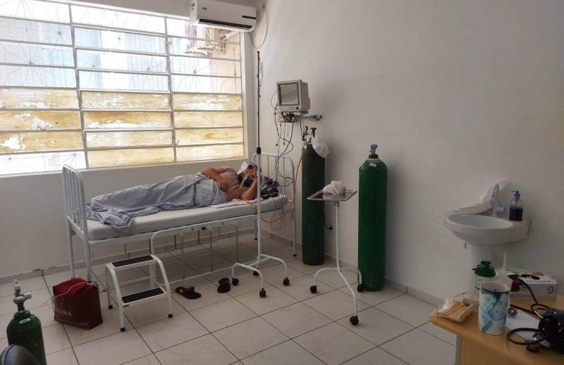 Seis pacientes recebem oxigênio em leitos de observação no Centro de Atendimento ao Coronavírus – Foto: Prefeitura de Xanxerê/ND