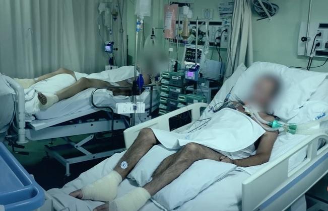 A região de Chapecó foi a primeira a dar indícios do colapso do sistema público de saúde. Na transição de fevereiro para março, SC passou a somar uma lotação acima de 90% e atualmente soma uma fila de pacientes – Foto: HRSP/Divulgação/ND